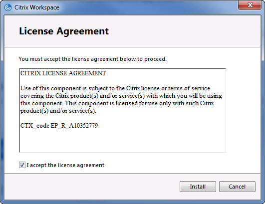 Install the Citrix Workspace for WIMS online and WIMS Sandbox Users