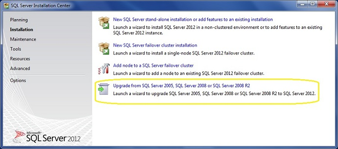 Updating sql express 2005 to 2008
