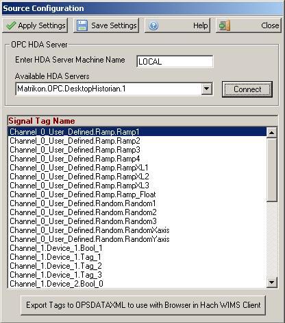 Configuration - Source Configuration Q12260 [Q12272]