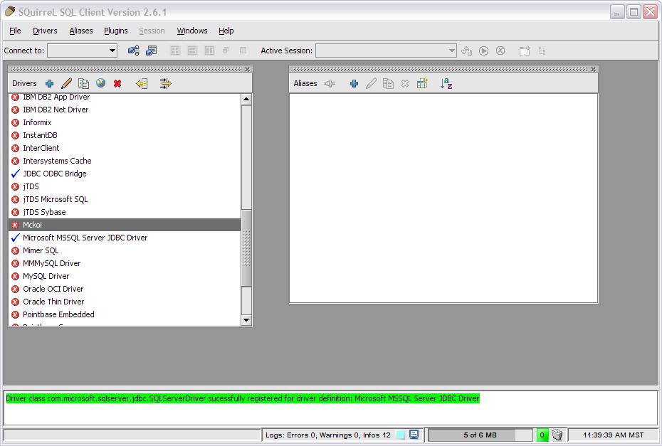 Installing/Using the SQuirel SQL database client [Q10589]