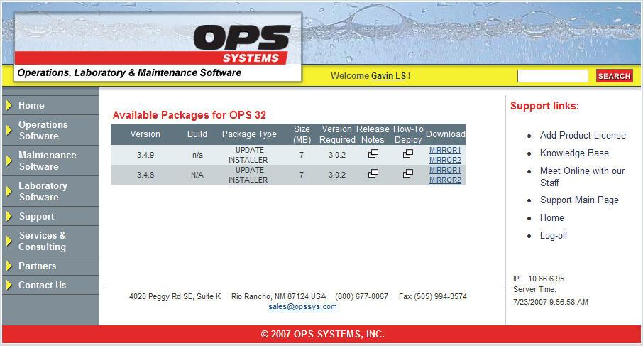 OPS 32 Upgrade Installation (UPDATE-INSTALLER PACKAGE) [Q10418]
