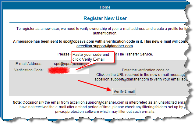how to create a mail handling register