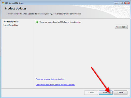 Install Microsoft Sql Server 2012 Management Studio Q13907