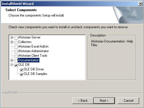 Install GE Proficy iHistorian OLE DB Driver [Q12079]